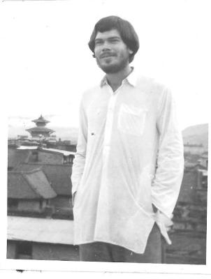 The author in 1972